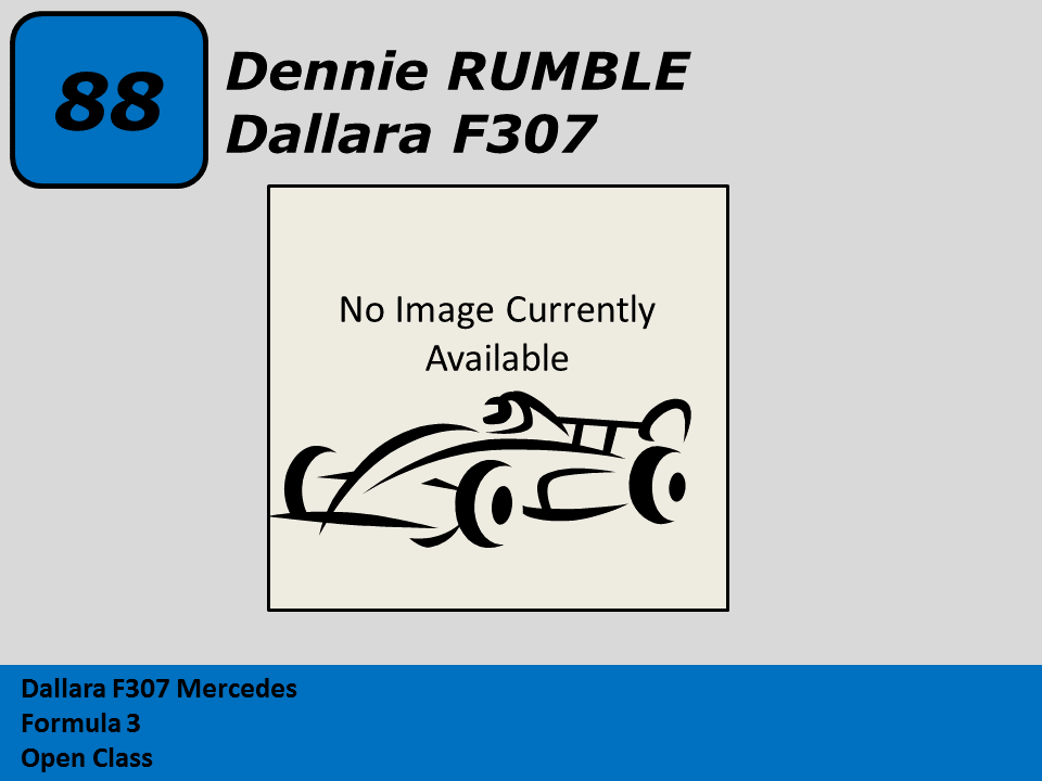 Dennie Rumble 07 Dallara