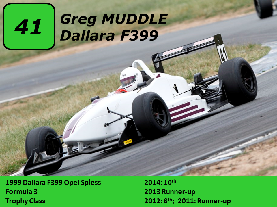 Greg Muddle 01 Dallara