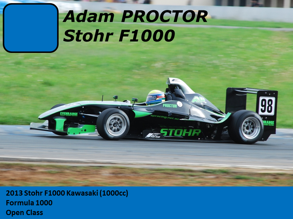 Other Cars Adam Proctor Stohr F1000