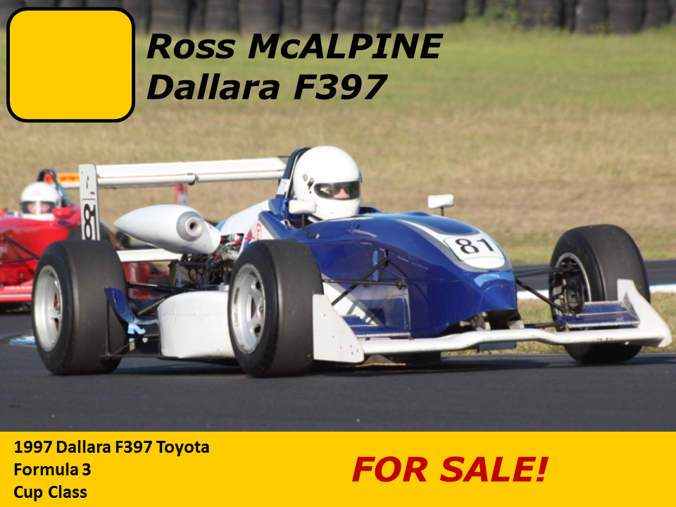 Ross McAlpine 98 Dallara